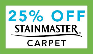 Save 25% OFF Stainmaster Carpet during the spring fling sale at Towne Pride Abbey Carpet!