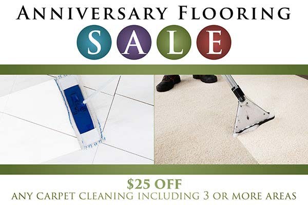 $25 OFF any carpet cleaning including 3 or more areas this month at Towne Pride in Hampstead!