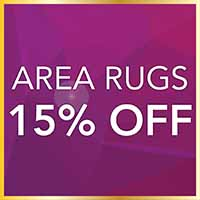 National Gold Tag Flooring Sale going on now at Towne Pride Interiors! Receive 15% off a beautiful area rug